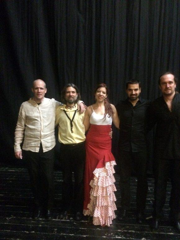 Flamenco live večer so skupinou Ponte Pardo, Divadlo Actores, Rožňava, 15.11.2016