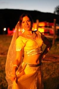 Železná Breznica, 29.7.2017 indický tanec